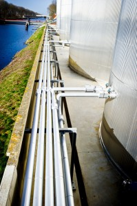 Biopower Storage Piping